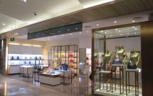 FABI boutique, bags, handbags retail shop—LED lighting design project
