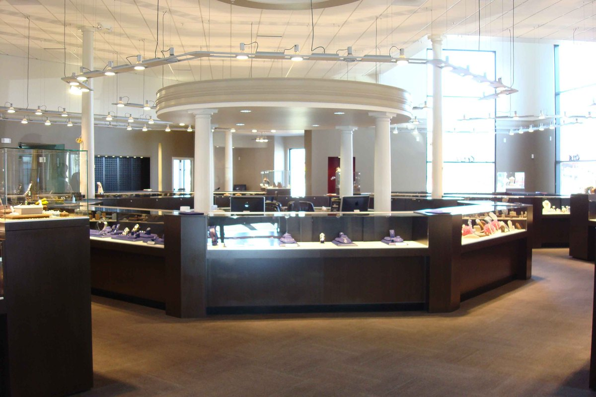 Jewelry Store Lighting Design 1