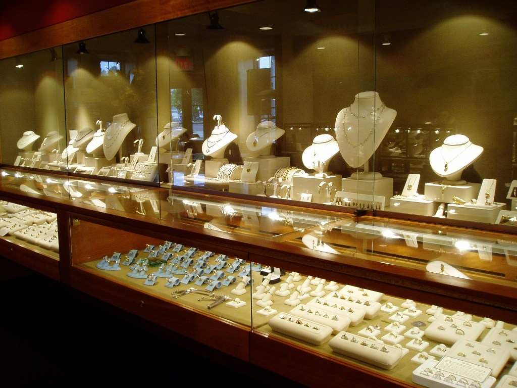 Jewelry Store Lighting Design