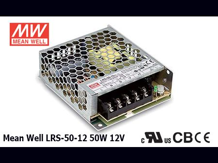 LRS-50-12 Original Taiwan Mean Well Switching Power Supply