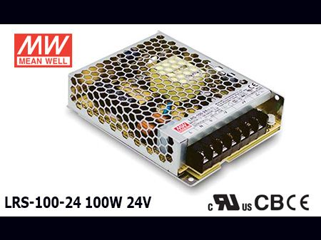 LRS-100-24 Original Taiwan Mean Well Switching Power Supply