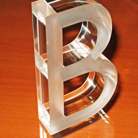 Flat Cut Acrylic Letter Sign