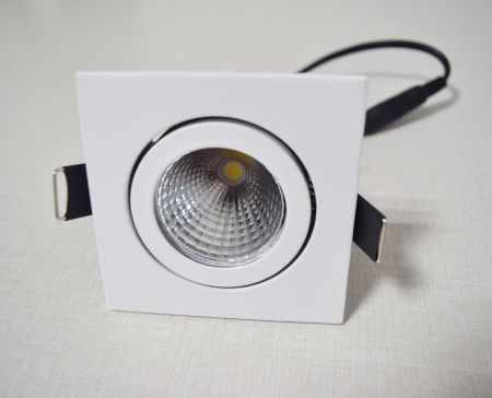 9W COB ceiling light  / Anti-glare downlight Die casting frame