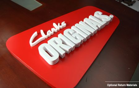 Colors Return Resin Face Lit Channel Letters Rimless Baking Stainless Steel Bounded UL Listed LED Signage Illuminated