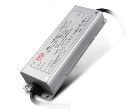 ELG-100-series Waterproof Original Taiwan Mean Well AC to DC Driver LED Power Supply ELG-100-series