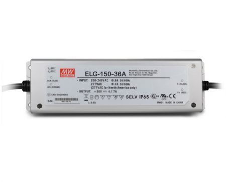 ELG-150-series Waterproof Original Taiwan Mean Well AC to DC Driver LED Power Supply ELG-150-series