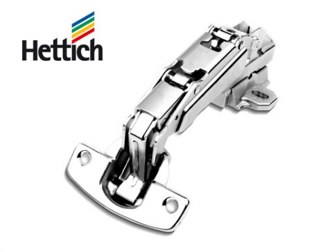 Hettich 2pcs concealed hinges full overlay / half overlay / inset overlay 165° openning angle