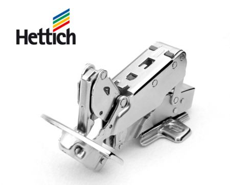 Hettich 2pcs Tipmatic concealed hinges full overlay / half overlay / inset overlay 165° openning angle