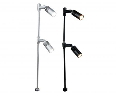 MLC251  LED Standing Spotlight  LED Cabinet Light  LED Jewelry Lights  Mini Spotlight  2*3W & 2*1W