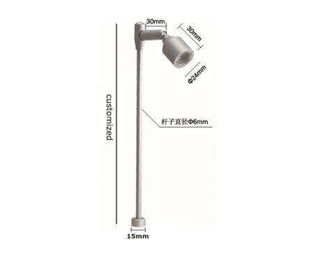 MLC242  LED Standing Spotlight LED Cabinet Light  LED Jewelry Lights  Mini Spotlight  3W