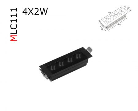 MLC111  8W RECESSED DOWNLIGHT  AC85-265V