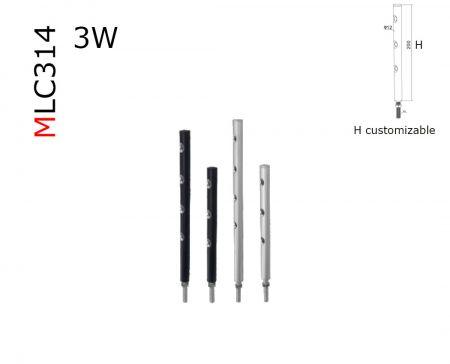 MLC314  spectrum miniature 3W LED spotlight  AC85-265V