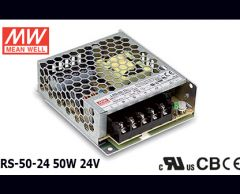 LRS-50-24 Original Taiwan Mean Well Switching Power Supply