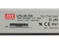 LPC-35 series Waterproof Original Taiwan Mean Well AC to DC Switching LED Power Supply