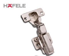 Häfele 2pcs Tipmatic concealed hinges full overlay / half overlay / inset overlay 95° openning angle  Damper hinges