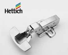 Hettich 2pcs Tipmatic concealed hinges full overlay / half overlay / inset overlay 95° openning angle  Damper hinges