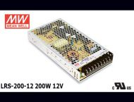 LRS-200-12 Original Taiwan Mean Well Switching Power Supply