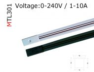 MTL301  2 circuit mini track  10A